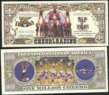 Cheerleading Million Cheers Dollar - Lot Of 2 Bills