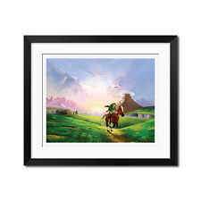 The Legend of Zelda Ocarina Of Time Poster Print
