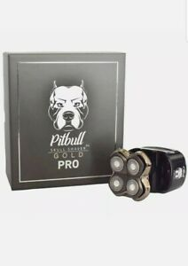 Pitbull Gold Rotary Electric Shaver Rechargeable Cordless Men Women Bald Head