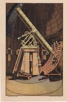 Victorian Print Ad 1884 Warner Observatory Telescope Astronomy Safe Cure on Back