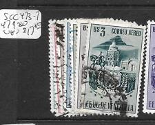 VENEZUELA  (P2404B)  MERIDA  ARMS  SC C473-7, 479-80  VFU