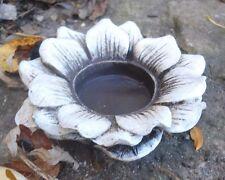 Latex flower candle holder plaster concrete casting garden mold mould