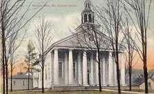Holland Michigan Old Colonial Church Antique Postcard J51146