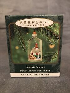 Hallmark 2000 Keepsake Mini Seaside Scenes Lighthouse Christmas Ornament