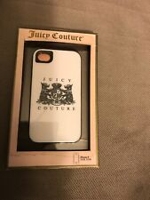Juicy Couture Crest Case for iPhone 4/4S(White/Bank)