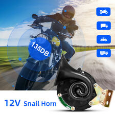 135DB 12V Super laut Elektrisches Schneckenhorn Hupe Horn Für Auto Motorrad DE