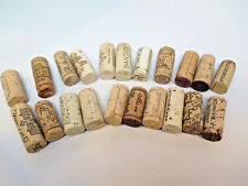 CRAFTS Wine Corks REAL Used Cork Lot of 20 Great Hot Plates French California #1