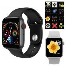 """1.54"""" Microwear W34 ECG Heart Rate Monitor Smart Watch Sports Tracker Bracelet"""