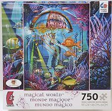 CEACO® 750pc CIRO MARCHETTI • MAGICAL WORLD MAN OF WAR PUZZLE Jig Saw 750 Piece