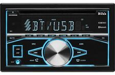Boss 660BRGB Double Din Bluetooth Car Stereo CD Receiver *Brand New*