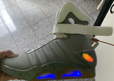 Official Universal Studios Back To The Future II Light Up Air Mag Shoes Size 10