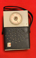 Zephyr 6 Transistor pocket Radio- with case Hong Kong 1960's not sure if works