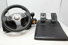 Logitech Driving Force GT Feedback Racing Wheel w/ Pedals PS3 - Great Condition!