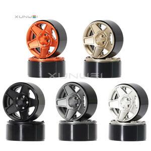 """4pcs Aluminum 1.9"""" Beadlock Wheel Rim Fits RC 1/10 Axial SCX10 Traxxas TRX-4 D90"""