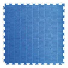 Toorx Tatami ad incastro 100x100x4 Cm. con 4 bordi Rosso-blu Antiscivolo