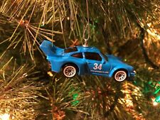PORSCHE 934.5  CUSTOM CHRISTMAS TREE ORNAMENT BLUE