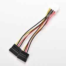 Adapter IDE SATA SPLITTER SDOPPIATORE CONVERTITORE SCHEDA 15 PIN Converter fm
