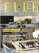 FRENCH ISSUE ELLE DECORATION MAGAZINE NUMBER 116 APRIL 2002