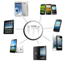 3in1/Set USB Sync Data Cable Charger 9inch White for iphone 5-6plus iPad Newly