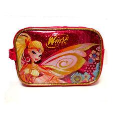 WINX beauty fucsia glitterato STELLA da viaggio-portatrucchi 1 tasca 22x15,5x8cm