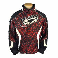 Castle X Racing Charged Special Edition Snowmobile Jacket Red Mens Size Small