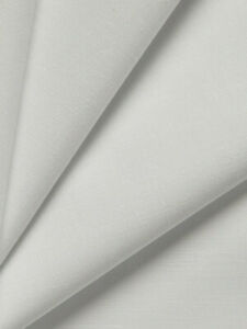 Drapewell White FR Blackout Curtain Lining - By Edmund Bell - 50m Roll