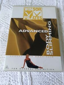 WINSOR PILATES - ADVANCED BODY SLIMMING – DVD, R-ALL, LIKE NEW, FREE SHIPPING