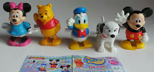 Disney Character Mini Wind-Ups set of 5