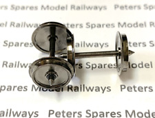 Peters Spares PS108 12.6mm Solid Disc Wagon & Coach Wheels (x1 Pair)