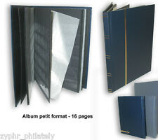 """Stamp Album (7"""" x 9"""") ~ 8 Pages with Spacer Crystal !!"""