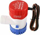 Electric Submersible Boat Bilge Water Pump Low Noise for Boat Yacht(12V,1100GPH) photo