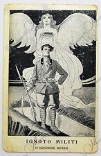 Cartolina Ignoto Militi - La grande Preghiera D'Annunzio 1921