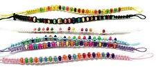 2 Freundschaftsarmbänder mit eingearbeiteten Perlen/Bunt/ Armbänder