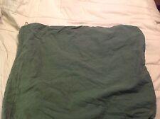 TWO USGI Army Military Surplus OD Barracks 100% Cotton Laundry Bag