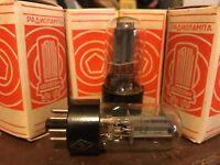 2 Vintage NOS 1969 USSR Soviet Tubes 6Н8С=6SN7GT=6N8S Rare! Cool Box! US Seller