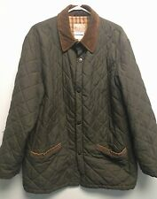 Beretta Thermore Mens Size 38 US  Green Quilted Thermal Insulated Jacket