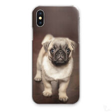 PUG PHONE CASE CUTE FUNNY PUPPY DOG HARD COVER FOR APPLE SAMSUNG HUAWEI SONY...