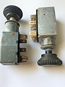 Porsche 914 Headlight and hazard switch