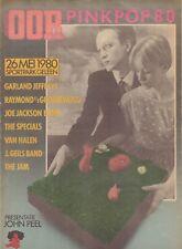 MUZIEKKRANT OOR 1980 - PINKPOP KRANT - SPECIALS/THE JAM/VAN HALEN/JOE JACKSON
