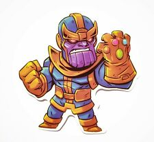 THANOS Decal Waterproof Removable Sticker Laptops Tablets Car 3DS Skateboard