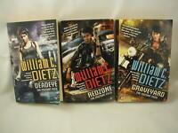 William C Dietz The Mutant Files Series 3 Books Detective Science Fiction 2038