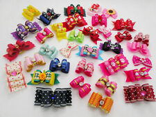 30 Dif Puppy dog Pet grooming bow* 1 Free Valentines's day Bow Yorkie Shih tzu