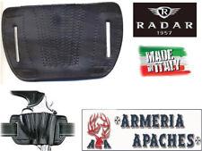 Fondina Radar sogliola per pistola automatiche e revolver in cuoio