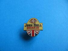 JOHN BULL ENGLISH Ale Beer Badge. VGC. Unused. Enamel. Union Jack. C. Wells