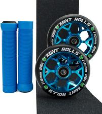 Mint Rolls 110mm Scooter Wheels Grips & Tape Pack - Free Axles