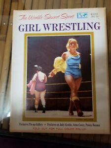 Vintage All Pro Female/Girl/Women/Ladies Wrestling Magazine from Winter 1965