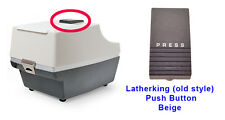 Latherking (old style) Dispence Push Button CHARCOAL