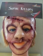 ADULT SERIAL KILLER 33 SCARRED INSANE CRAZY LATEX FACE MASK COSTUME TB25533