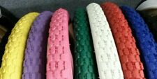 2 NEW DURO BEACH CRUISER BICYCLE TIRES,26X2.125,KNOBBY/STUDDED PATTERN,PIC COLOR