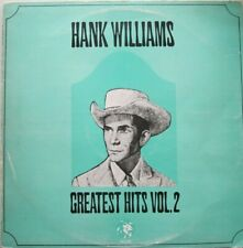 HANK WILLIAMS - GREATEST HITS - VOL.TWO -  LP